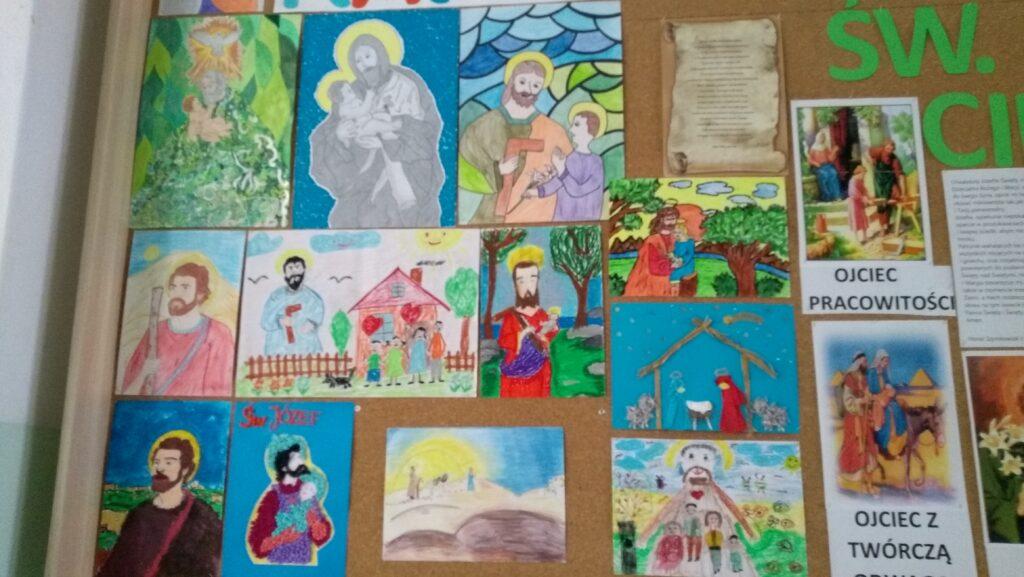 Rozstrzygnięcie szkolnego konkursu o św. Józefie