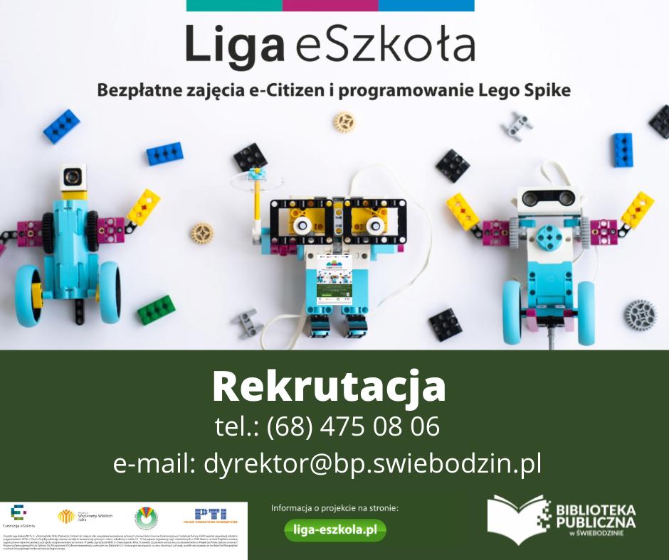 Zajęcia komputerowe e-Citizen i LEGO Spike